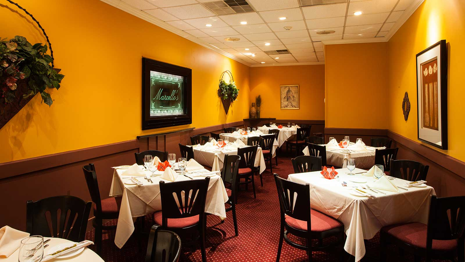 Marcellos Restaurant in Suffern NY